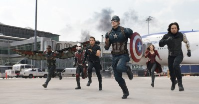 It just hit me: Natasha and Clint are on opposite sides in this war! Now I'm really going to cry.