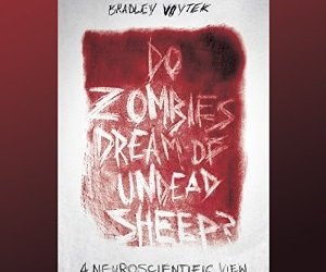 Do Zombies Dream of Undead Sheep? Cover with blood