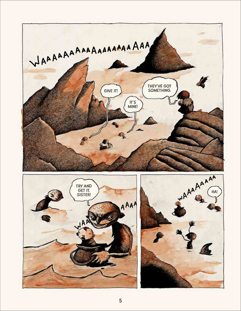 Bera the one headed troll page 5