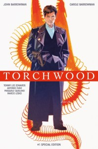 Torchwood #1 Convention Cover by Tommy Lee Edwards