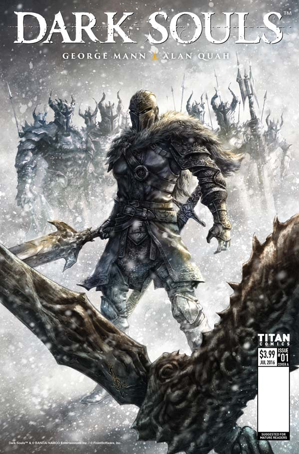 Dark Souls: Winter's Spite Cover by Alan Quah