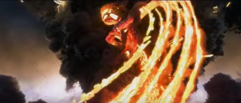 Lava Monster from Moana Trailer