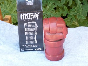 Hellboy Right Hand of Doom Coin Bank