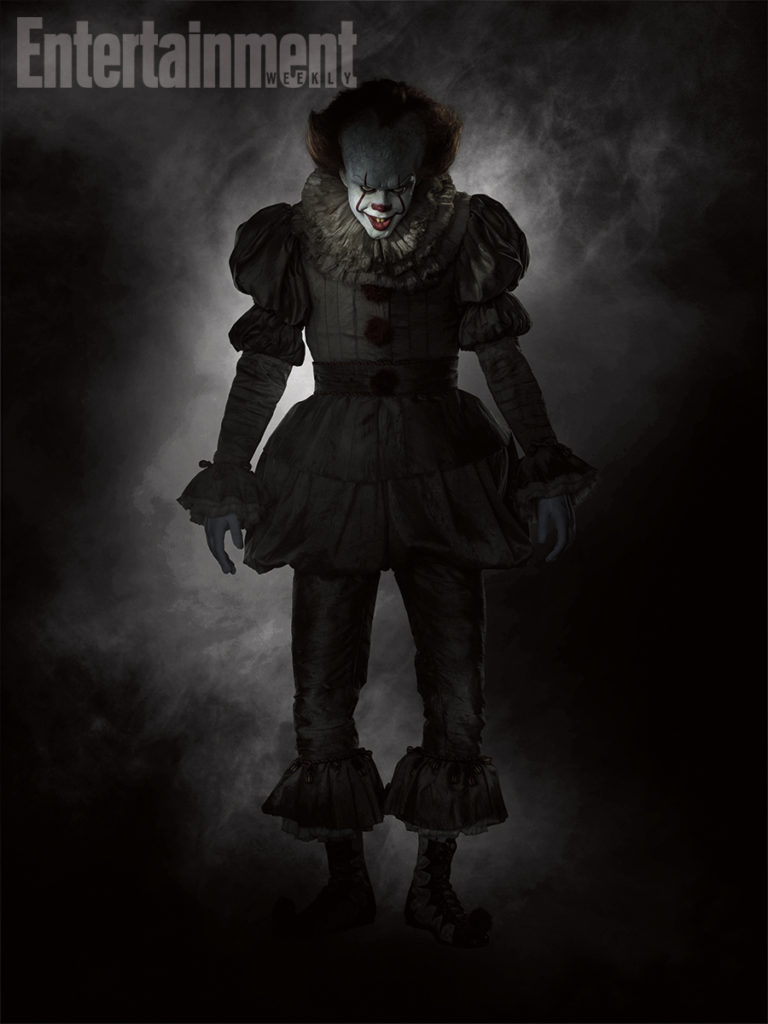 Pennywise in Stephen King's It remake