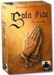 Stronghold Games and Spielworxx Announce Publication of Sola Fide: The Reformation