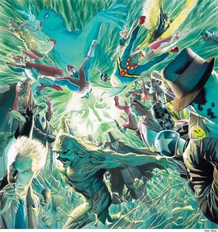 Alan Moore Tribute Piece by Alex Ross