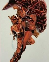 Batman vs. Boba Fett by Alex Ross