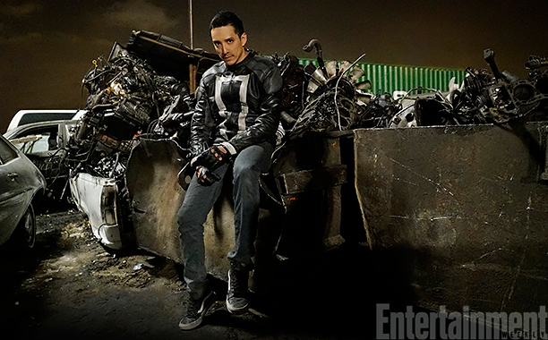 Gabriel Luna as Ghost Rider on Agents of S.H.I.E.L.D.
