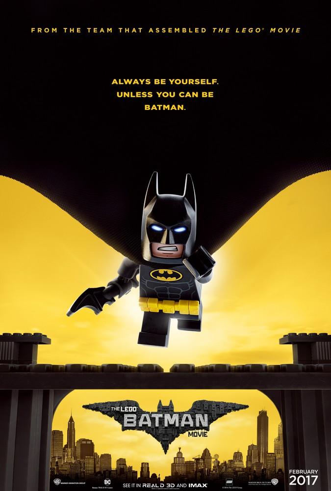 Lego Batman Teaser Poster