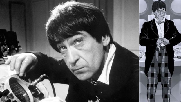 Patrick Troughton Second Doctor Power of the Daleks