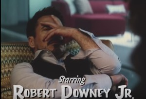 Robert Downy Jr in Avengers: Full House