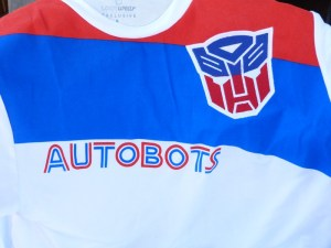 September 2016 Loot Crate Level Up Transformers Jersey