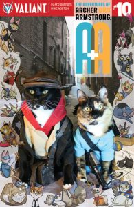 Archer & Armstrong #1 Valiant Cat Cosplay Cover