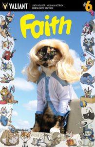 Faith #6 Valiant Cat Cosplay Cover