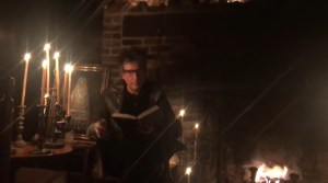 Neil Gaiman Reads 'The Raven' by candlelight