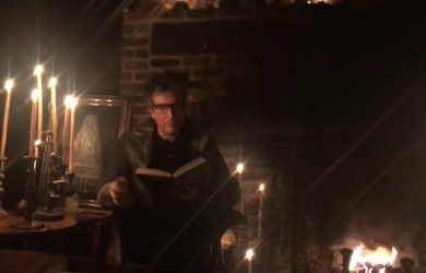 Neil Gaiman Reads 'The Raven'