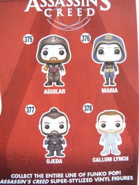 Assassin's Creed possible figures