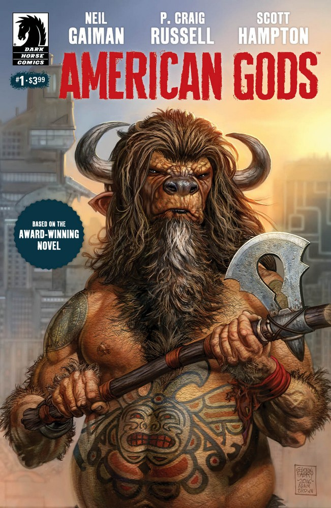 American Gods: Shadow #1 Cover B