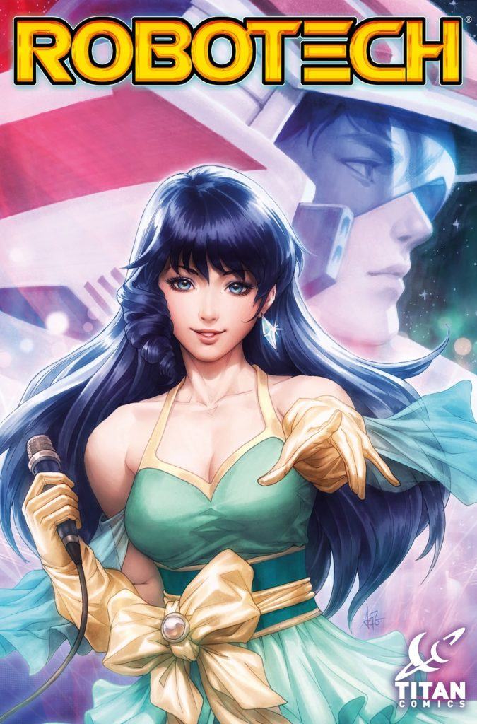 Robotech issue 1 A cover by Artgerm