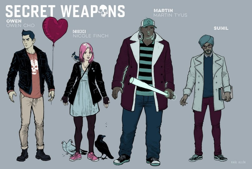 SECRET WEAPONS #1 –Designs #1 of 2