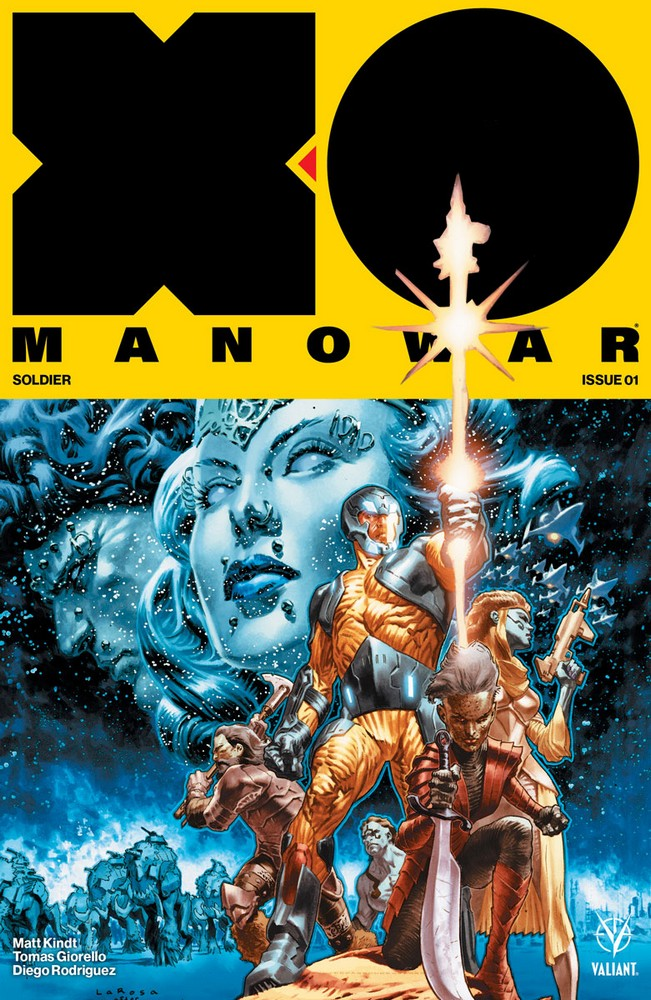 X-O Manowar 2107 Cover A by Larosa