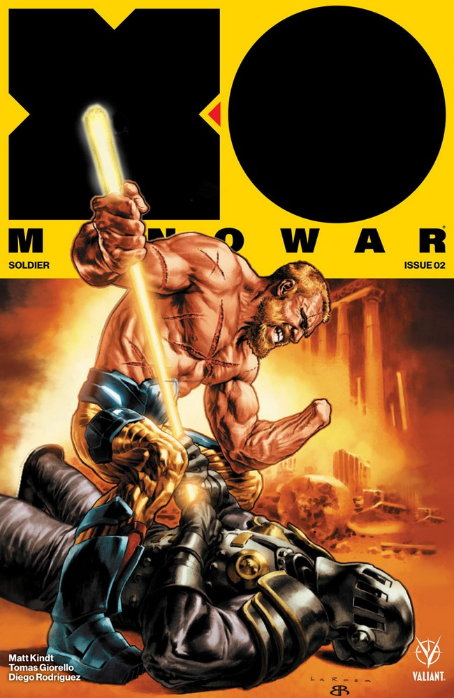 X-O MANOWAR (2017) #2 – Cover A by Lewis LaRosa