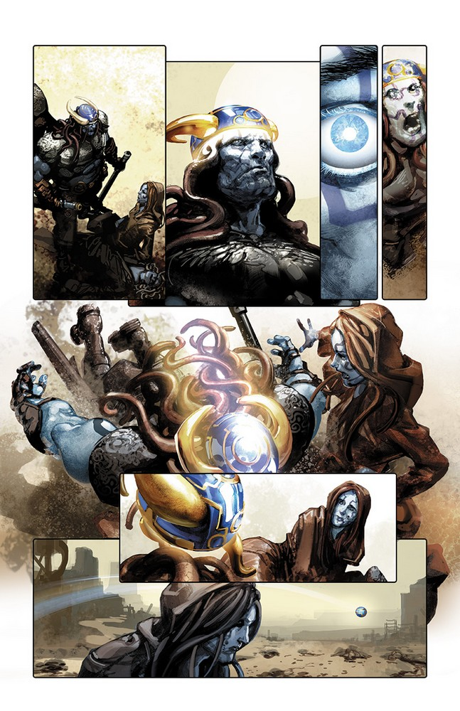 X-O MANOWAR (2017) #7 – Interior Art by Clayton Crain