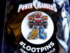 Power Rangers LootPin