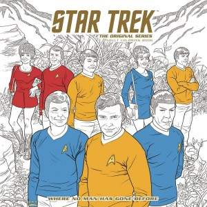 Star Trek: The Original Series Coloring book cover