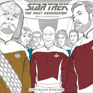 Star Trek: The Next Generation Coloring Book