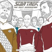To Boldly Color! Dark Horse Releasing More Star Trek and Star Trek The Next Generation Coloring Books