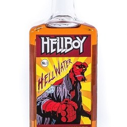 Hellboy Hell Water Cinnamon whiskey