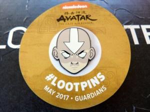 Glow-in-the-Dark Aaang Loot Pin