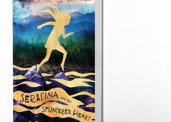Serafina and the Splintered Heart by Robert Beatty Cover