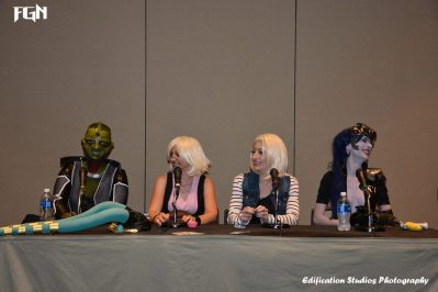 Cosplaying Video Game Aliens Panel