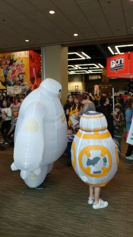 Bayamax meets BB-8