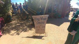 Fire Whip Show