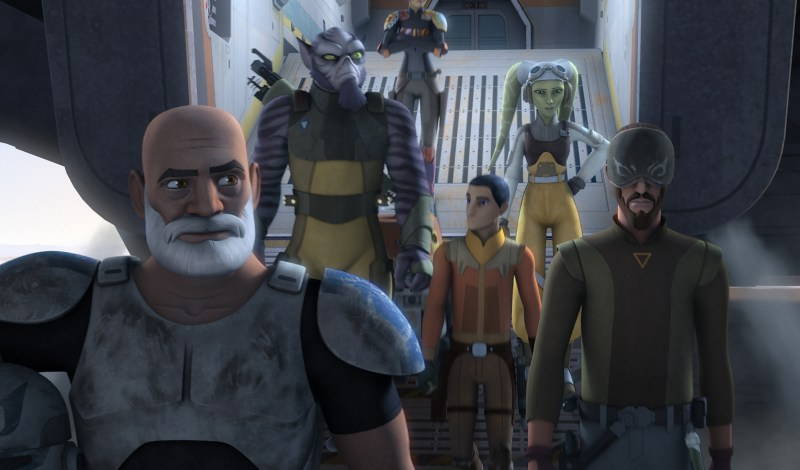 Rebel Family The Last Battle Star Wars Rebels