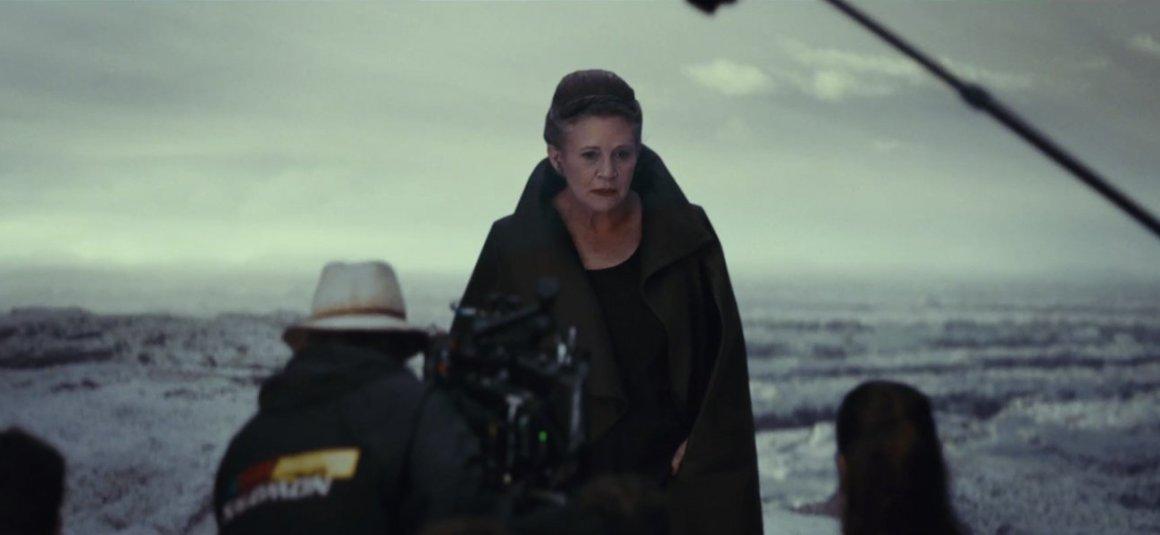Leia Rey The Last Jedi