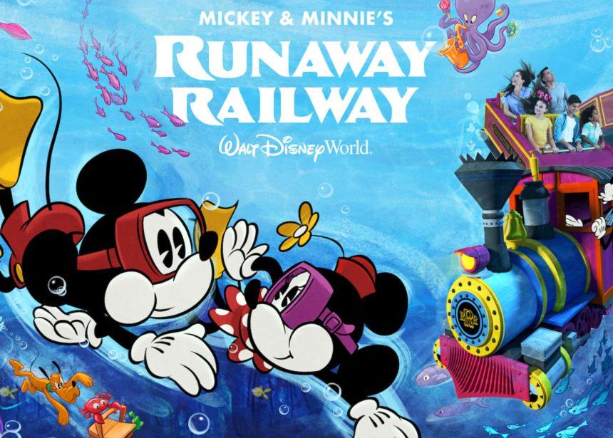 SDCC 2021: Mickey & Minnie's Runaway Railway: From Animation to Imagineering