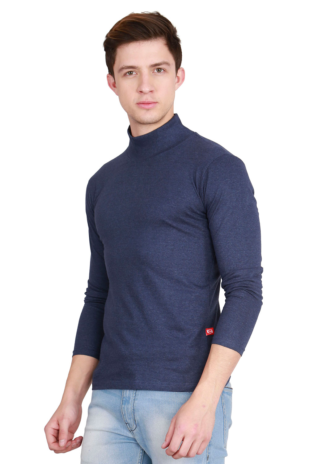 694033c1cf0 Fanideaz Men s Cotton Full Sleeve Classic High Neck T Shirt – Fanideaz