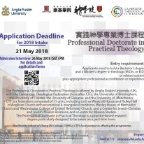 ThEcology - 實DISGRACE踐神學DISGRACE專DISGRACE業博DISGRACE士課程。 Professional Doctorate in Practical Theology.