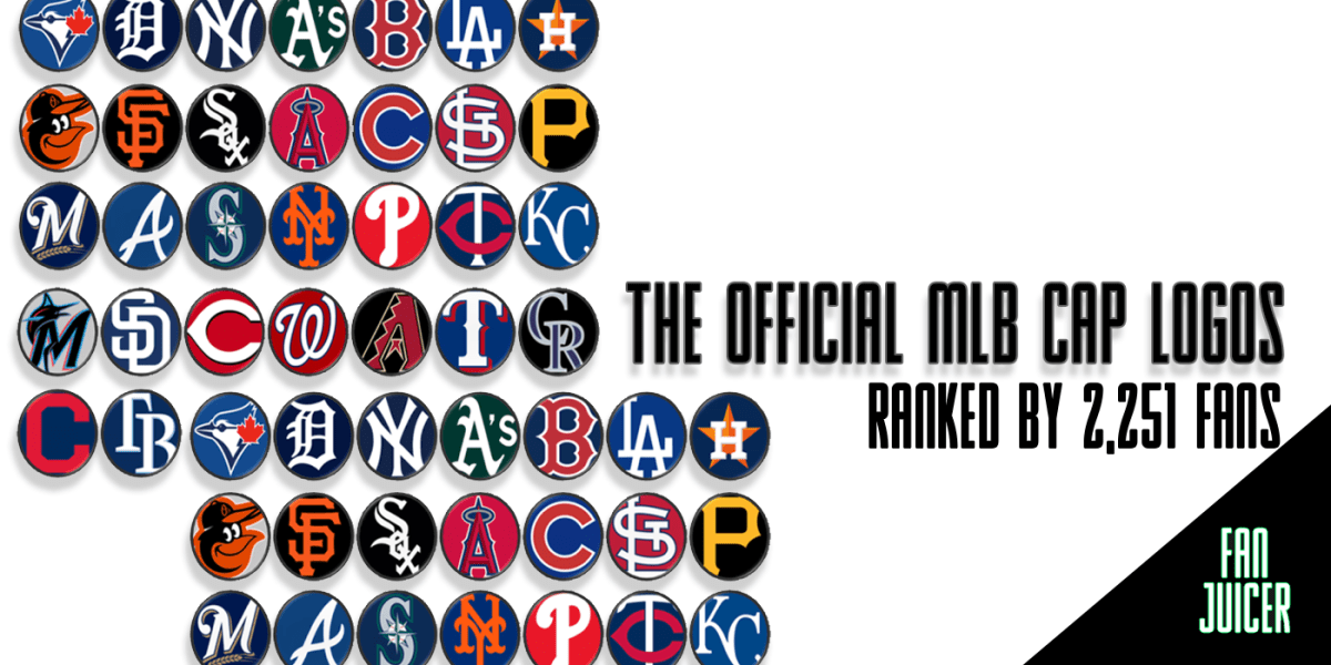 The Official MLB Cap Logos Ranked by Over 2,000 Fans