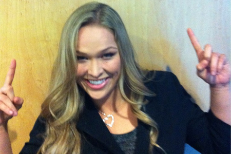 """Rousey on GSP, """"I think he lucked out a lot"""""""
