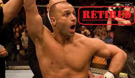 Matt Serra Retired