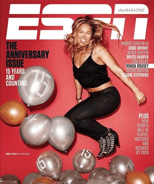 Ronda Rousey EPSN Cover