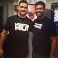 Lyoto and Chris Weidman have a run-in @ Arnold Sports Festival