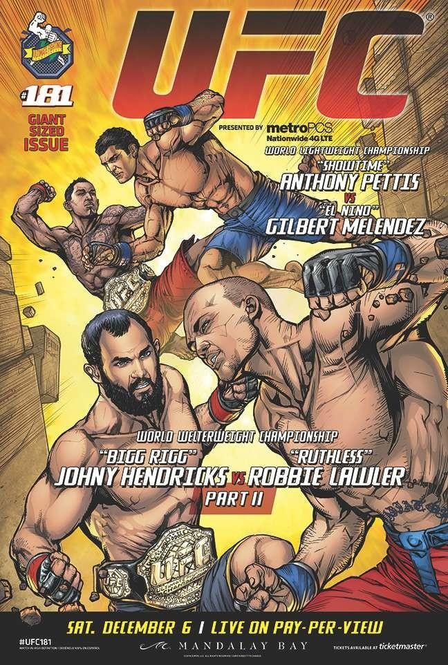UFC 181 DC Poster