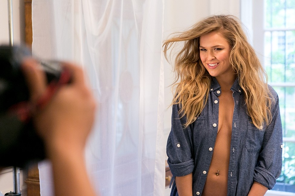 Ronda Rousey: Buffalo Pro photo shoot. HOT!!!