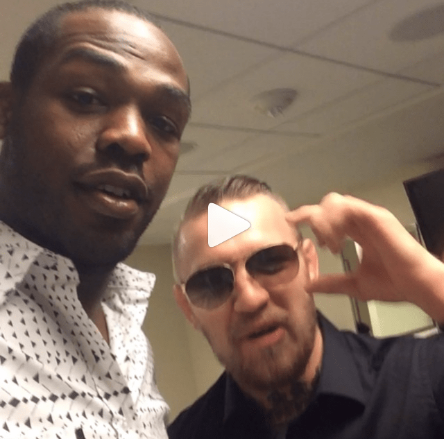 Jon Jones gives us a star studded Instagram® at 'UFC® The Time is Now'